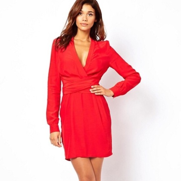 b35e460ec7b ASOS Dresses   Skirts - ASOS Long Sleeve Wrap Dress